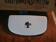 Dual Flush Toilet Tank Lid with button included (Study picture carefully) 10B