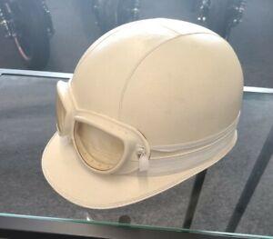 Everoak Vintage Motorcycle corker Helmet 40s 50s 60s