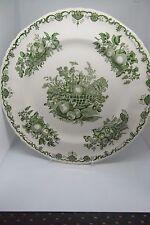 Masons Green Fruit Basket Dinner Plate 27 cm British