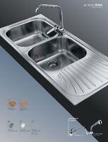 Lavello Inox Foster >> serie ALIEN Incasso Standard 1912 062 SX COME DA FOTO