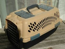 PETMATE KENNEL SMALL PET ANIMAL TRANSPORT CARRIER 15 X 10 X 8 CLOSED TOP