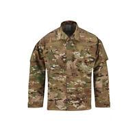 Propper ACU Coat New Spec Nylon Cotton Tactical Army Uniform Shirt - Multicam
