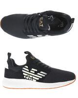 Scarpe Sneaker Emporio Armani EA7 Shoes FUSION RACER Uomo Nero X8X023 XCC05 2