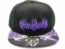 Batman Joker HaHa Sublimated Bill Snapback Hat