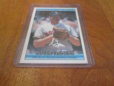 1992 Donruss Bonus Cards #BC3 Roger Clemens Boston Red Sox Baseball Card