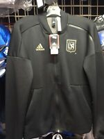 Adidas LAFC Anthem ZNE KN 2018 Full Zip Black Jacket Size XS Men's Only