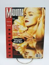 Madonna into the Nineties Magazine with Poster Insert Rare Vintage 90s