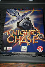 Knight's Chase by Infogrames Vintage PC CD-ROM Game in Big Box Complete LikeNew