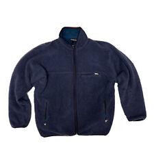 Vintage Patagonia Deep Pile Fleece Made In Usa Navy Blue Men's XL