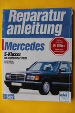 Mercedes Benz 280 380 500 S SE W126 ab 1979 Reparaturanleitung Handbuch