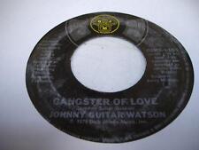 Soul 45 JOHNNY GUITAR WATSON Gangster Of Love on DJM