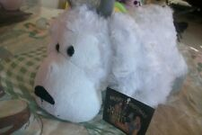 white horn sheep STUFFED Plush ANIMAL TOY