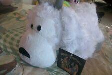 white horn sheep STUFFED Plush ANIMAL TOY