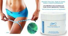 Cleo Tingly Menthol Cool Leg Circulation Gel 200ml Cellulite & Swelling Reducing