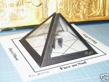 La Pyramide à souhait de type Khéops noire Magique Esotérisme inédit++