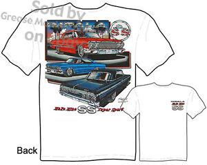 63 64 65 Impala T shirt 1963 1964 1965 Chevrolet Tee Shirts Chevy M L XL 2XL 3XL