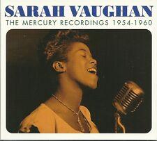 SARAH VAUGHAN THE MERCURY RECORDINGS 1954 - 1960 - 3 CD BOX SET