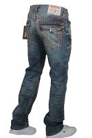 True Religion Jeans Men's Straight Super T With Flap 101122