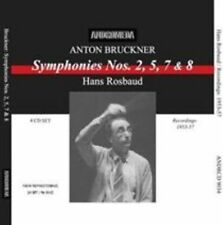 Anton Bruckner: Symphonies Nos. 2, 5, 7 & 8, New Music