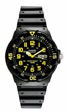 Casio Men's Sport Black/Yellow Analog Dive Watch MRW-200H-9BVDF