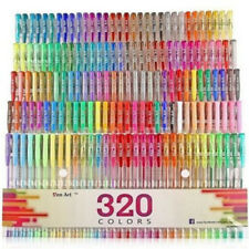 48 Colors 0.8mm Gel Ink Refills Set Glitter Coloring Sketch Drawing Painting