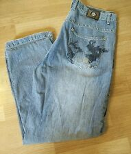 Army Denim Jeans Mens Size 38 x 32 Boot Cut Easy Fit Loose