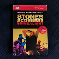 ROLLING STONES SHINE A LIGHT SCORSESE FELTRINELLI DVD + LIBRO ITALIANO
