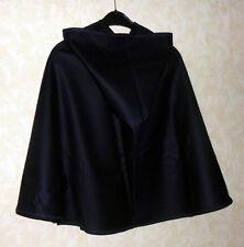 Lodenmantel Umhang Kapuze dunkelblau CAPE Mittelalter Mantel Tiroler Loden Wolle