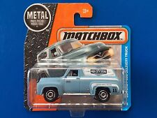 2017 Matchbox 1955 FORD F-100 PANEL DELIVERY VAN - mint on short card!