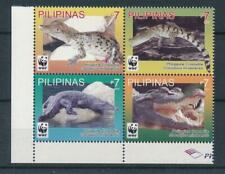 [307110] Philippines Crocodiles good set of stamps very fine MNH