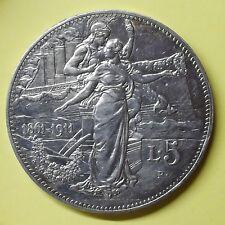 5 lire 1911 CINQUANTENARIO dell'unita d'Italia V. EMANUELE II