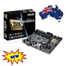 NEW Asus B150M-A HDMI DVI Sub-D USB3 Intel LGA1151 Motherboard 64GB - 6x SATA