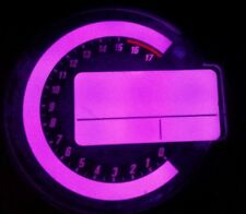 PURPLE KAWASAKI ZX6R C1H C6H 04 TO 06 LED CLOCK KIT LIGHTENUPGRADE