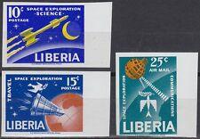 Liberia 1963 ** Mi.602/04 B Weltraum Space Espace Mercury Telstar