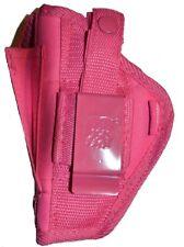 Pink Hip Belt Gun holster for Smith & Wesson M&P 380 Shield EZ
