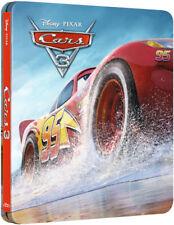 Disney Pixar Cars 3 3D/2D Limited Edition Steelbook Blu-Ray Uk
