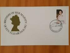 Australian Stamps First Day Cover 21 Apr 1982 Queen's Birthday Freepost In Aust