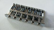 """NEW Bridge complet HARDTAIL chrome 73x40mm -2""""1/16- pour guitare électrique"""