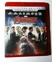 🔥Avengers: Age of Ultron 3D BLU-RAY Only 2015 Rare Red Case