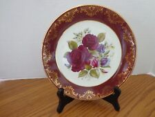 Weatherby Royal Falcon Gift Ware Plate Beautiful Roses - Stoke-on-Trent England