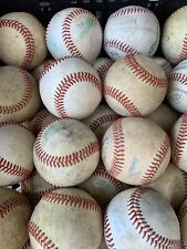 20 Used Baseballs