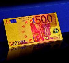 """★★ EUROPE : BILLET POLYMER  """" OR """" DU BILLET DE 500 EUROS ★★"""