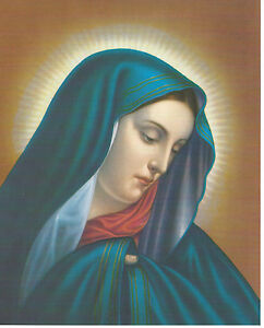 Catholic Print Picture Mary OUR LADY OF SORROWS - ready to frame