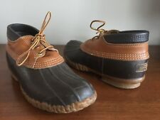 Ll Bean Boots Maine Hunting Shoe Ankle Boots Women's Size 9 Men's 7