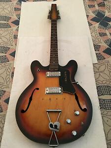 Vintage  Rare 1960's BALDWIN 12 STRING ELECTRIC  HOLLOW BODY GUITAR