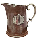 Maxwell & Berlet Aesthetic Movement Silver and Copper Beer Pitcher