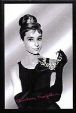 Audrey Hepburn Motiv 3 Nostalgie Barspiegel Spiegel Bar Mirror 22 x 32 cm