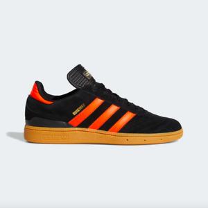 adidas Originals Mens Busenitz Skateboarding Shoes Black Red EG2478 - SIZE 9