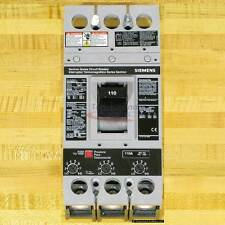 Siemens HFXD63B110 Circuit Breaker, 110 Amp, 65 kAIR, NEW!