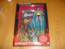 BATMAN SCARECROW FEAR ACTION FIGURE COLLECTOR SET / DC DIRECT